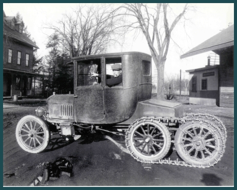 The Model T Ford Snowmobile Club Historical Images